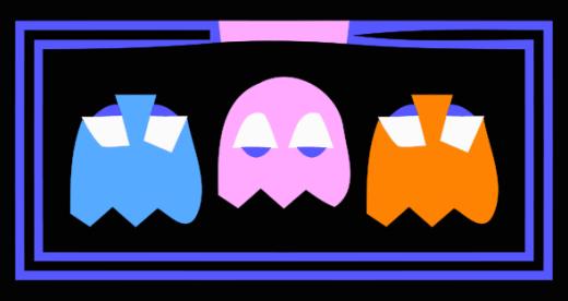 Vector Pac-Man by Philipp Lenssen