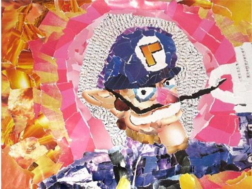 Nintendo Wario Collage by Chris Lange