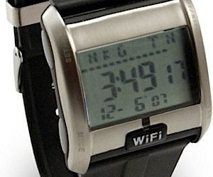 Wi-Fi Detector Watch Finds Free Signals