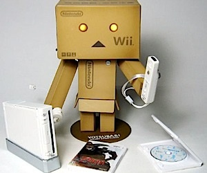 Wii Box Robot on the Attack