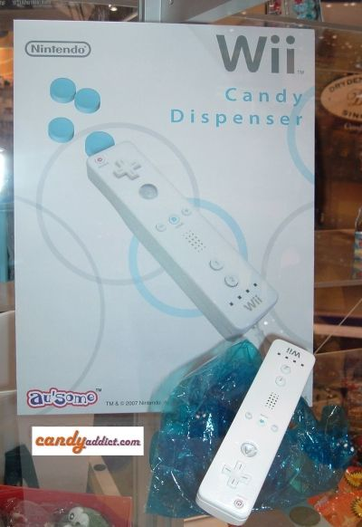 Wii Candy Dispenser
