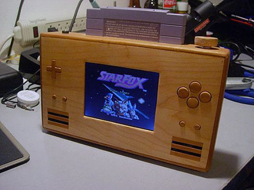 Wood SNES Casemod