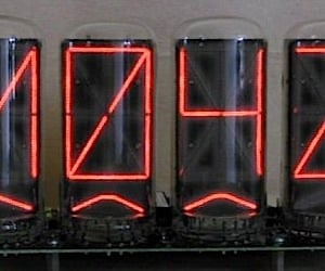 Zetalink Nixie Tube Clocks Offer Funky Fonts