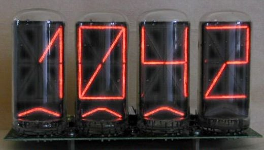 Zeta Nixie Clock Example