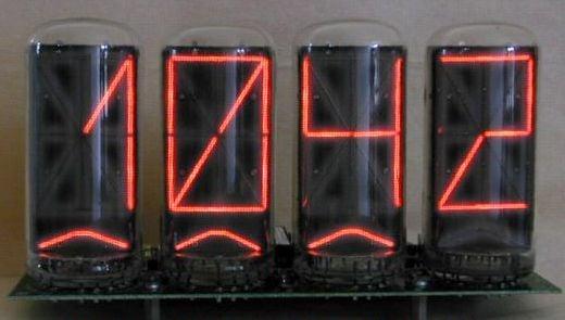 Zetalink Nixie Tube Clocks Offer Funky Fonts
