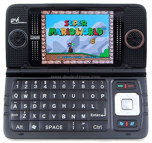 ZTC 8898 Mobile Phone with NES Emulation