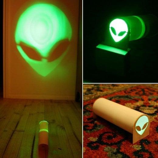 Space Alien Projector