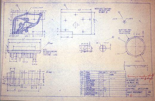 Atari Joystick Drafting Internals