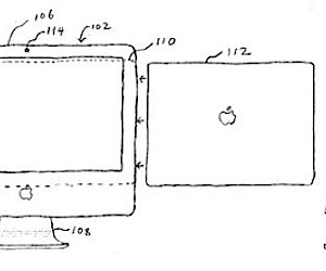 Apple Cinema Display Dock Patent Surfaces