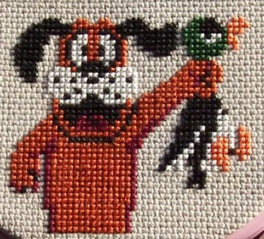 Duck Hunt Cross Stitch by johloh