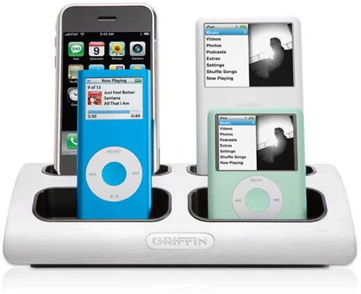 Griffin Powerdock Charges Multiple Ipods