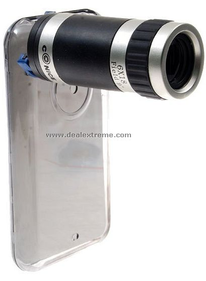 iphone zoom lens iphone zoom lens get ready for your up technabob 12509