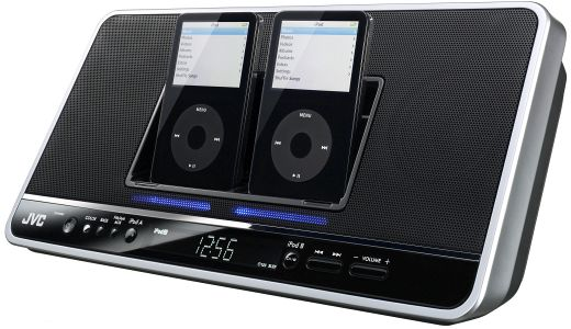 Jvc Dual iPod Dock for Conjoined Twins