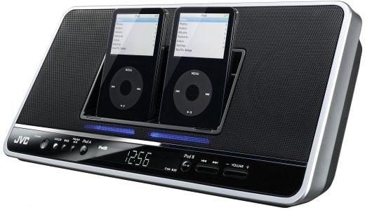 JVC NX-PN7 Dual iPod Dock