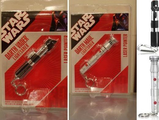 Lightsaber Laser Pointers: You'll Shoot Your Eye Out, Kid.