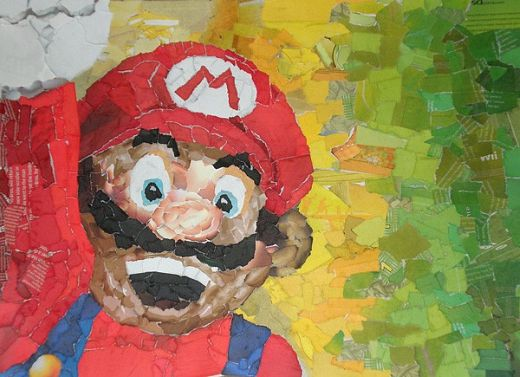 Mario Collage by Chris Lange