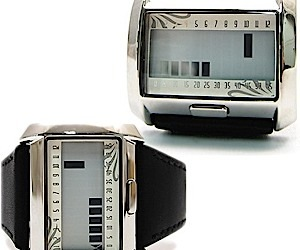Matrix LCD Watch is Simple and Elegant