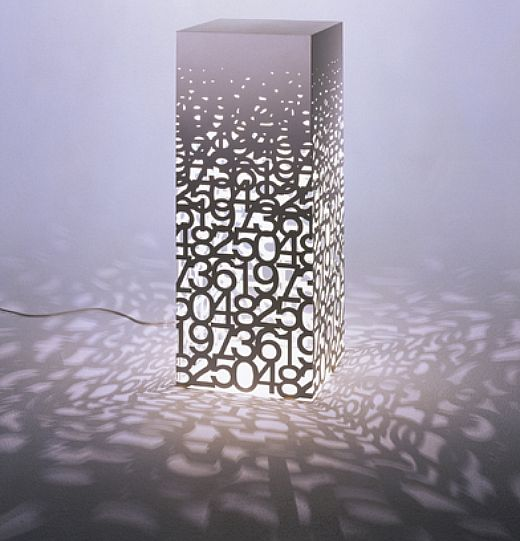Memento Number Lamp by Tonerico