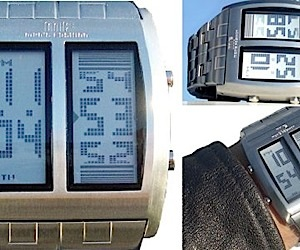 Mf Dual LCD Watch is a Two-Headed Beast