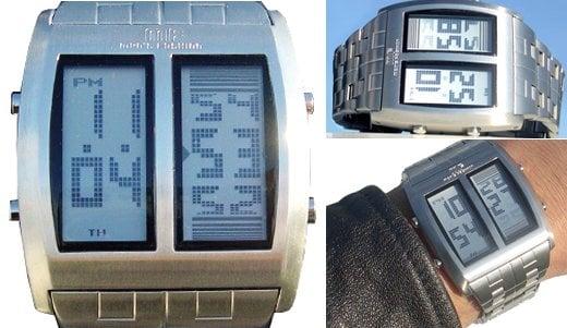 Mf Dual LCD Watch is a Two-Headed Beast