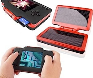 Handheld Nintendo Emulator Goes Solar