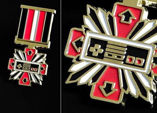 NES Console Wars Medal by Supermandolini