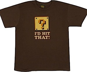 Mario Question Mark T-Shirt: I'd Hit That!