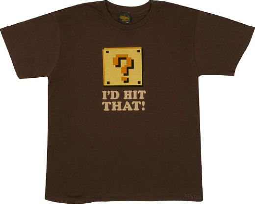 Nintendo I'd Hit That T-shirt