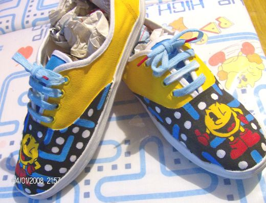 pac man sneakers