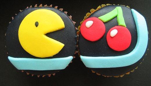 pacman cupcakes 2