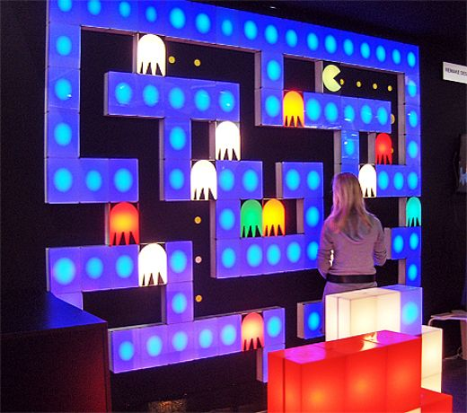 Pac man blocks light up your life - Luminaire mural ikea ...