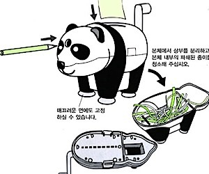 Panda Shredder Destroys Tiny Documents, Not Pandas