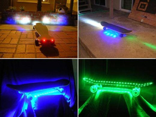 Photon Skateboards Get Undercarriage Lighting