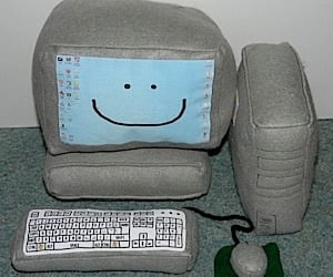 Plush Pc Makes Hardware Soft