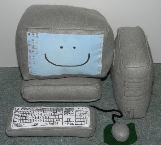 Plush PC by Mandy Jouan