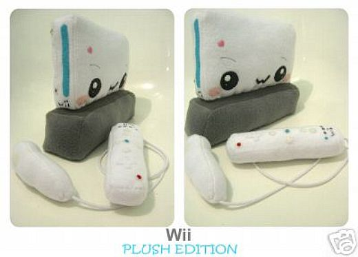Plush Nintendo Wii Hits the Auction Block