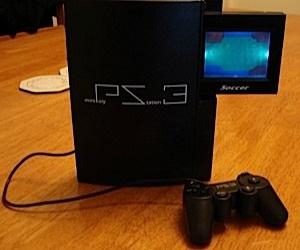 Mini Polystation 3 Mocks Playstation 3
