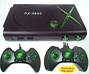 Px-3600 Console Fakes Xbox, PS2, PS3, Wtf?