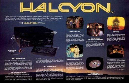 RDI Halcyon LaserDisc Flyer