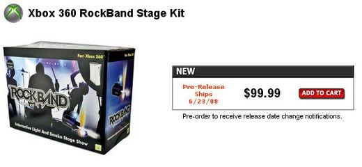 Rock Band Stage Kit Adds Lights and Smoke as You Jam