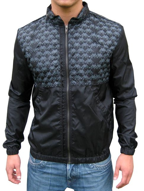 Space Invaders Jacket by Junk de Luxe