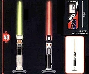 Lightsaber Lamps for True Star Wars Geeks