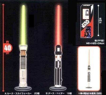 Star Wars Light Saber Lamps