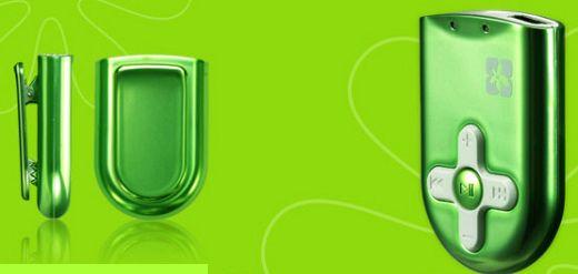 Titi Clip-on MP3 Player
