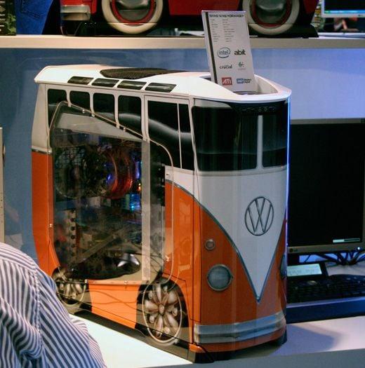 VW Minibus PC Case by Cooler Master