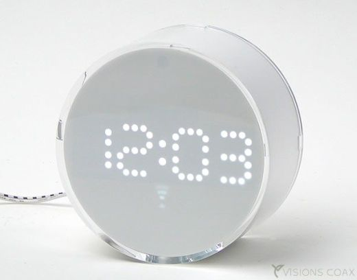 Snow White LED Alarm Clock