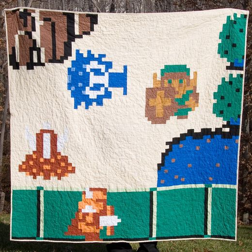 The Legend of Zelda and the Quilt of Power