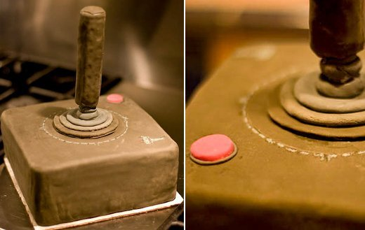 Atari 2600 Joystick Cake for Tasty Retro Gaming