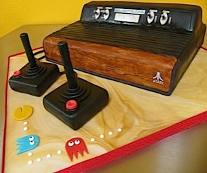 Atari 2600 Cake is One Sweet Console