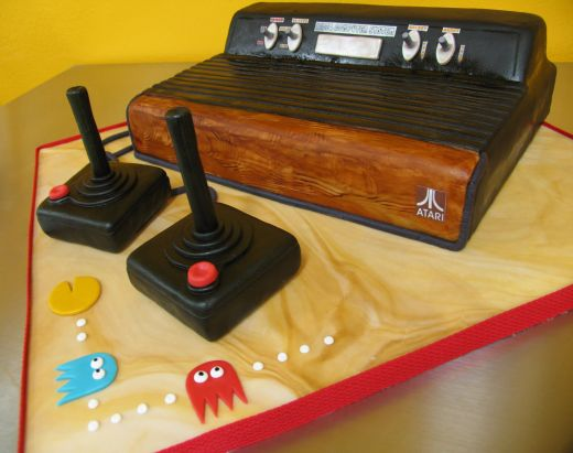 Atari 2600 Cake by Cakes by The Pound